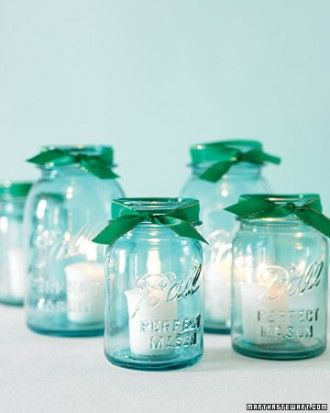 DIY Mason Jar Candles for Weddings and Parties