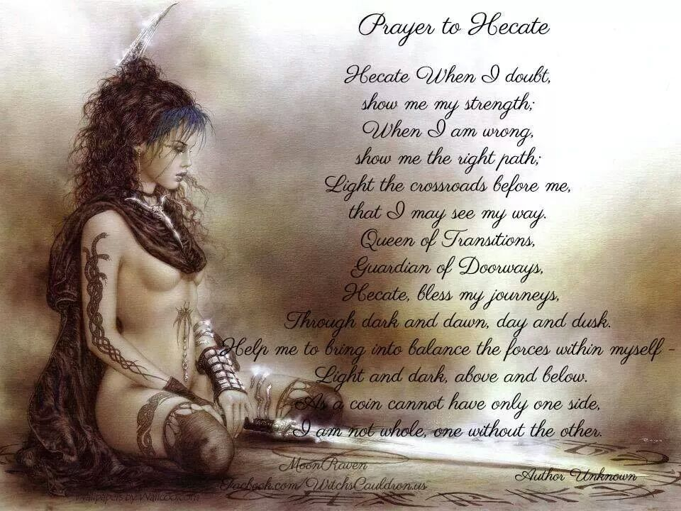 Pagan Prayer to Hecate