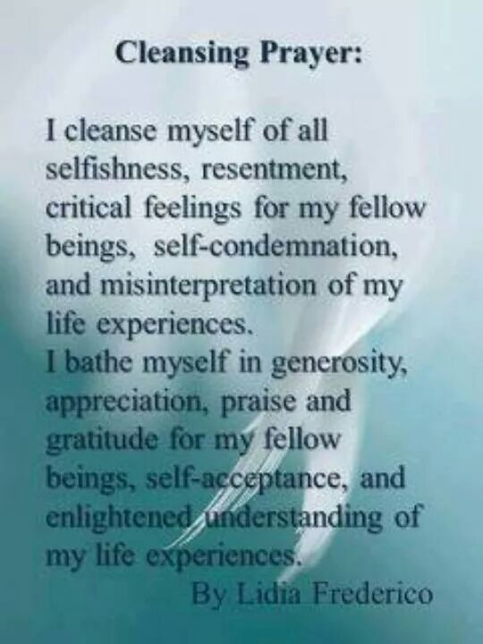 A Wiccan Cleansing Prayer – We all need a goodCleansing