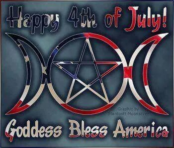 Happy 4th Of July, Goddess Bless America!